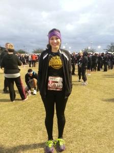 Pre-Race: Do I look cold?