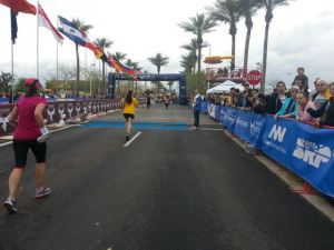Crossing that finish line=best feeling ever