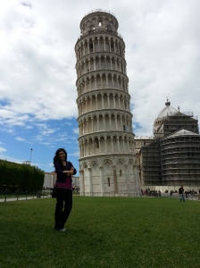 Leaning Helly and Leaning Tower