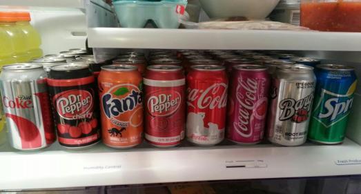 My fridge pre-challenge