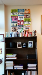My bib board makes my classroom complete :) (don't mind my soda collection lol!)