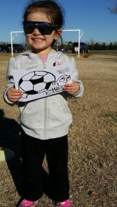 My sassy soccer player <3