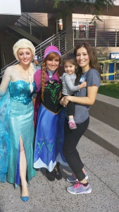 Me with the princesses