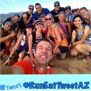 #RunEatTweetAZ
