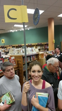 I'm having fun pacing, not sure about the guy behind me though lol!