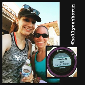 This girl though. Total B.A. She's training for an Ironman 70.3.