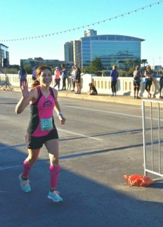 a fellow MRTT friend snagged this race pic -- having fun doing what I love :)