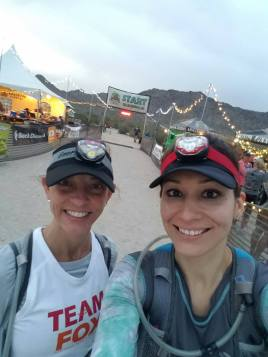 Foxy Jen and me at the Start :D