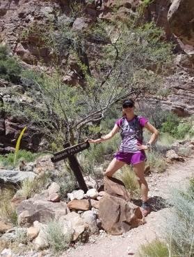 Pit stop at Ribbon Falls