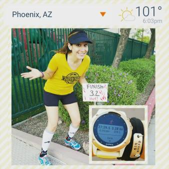 Last I checked, a 5k is 3.1 miles!! Bleh...lol