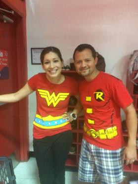WonderWoman and Robin <3