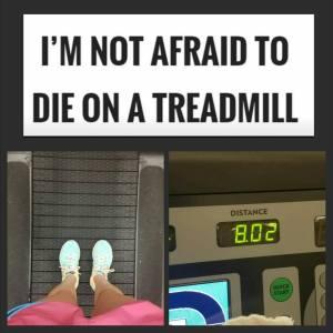 8 miles, didn't die.