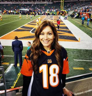 First NFL game and the Bengals won!! :D #WhoDey